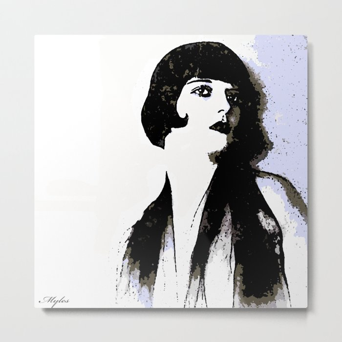 LOUISE BROOKS:  MY LOVE IS ALL I HAVE TO GIVE Metal Print