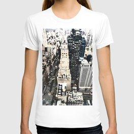 425 Park Avenue NYC City View Watercolor Graphic T-shirt