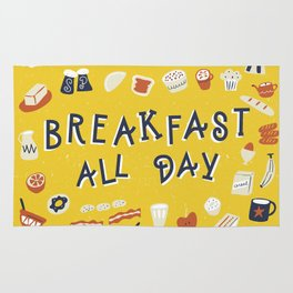 Breakfast all day Rug