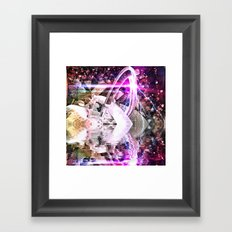 Abstract Rivers Framed Art Print