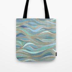 Wave lines 1 Tote Bag