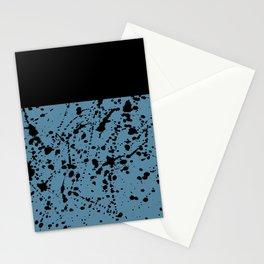 Splat Black on Niagra Boarder Stationery Cards
