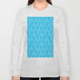 Triangles- Simple Triangle Pattern for hot summer days - Mix & Match Long Sleeve T-shirt