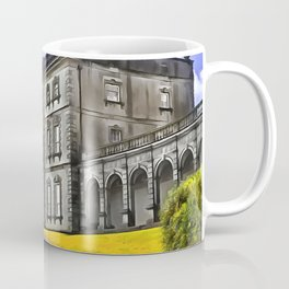 Florence Court, Enniskillen, Ireland. (Painting) Coffee Mug