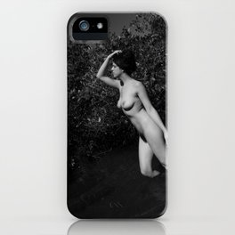 In the River of Mangroves iPhone Case
