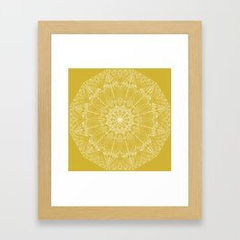 Mandala Design 2 Framed Art Print