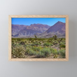Painted Desert - IV Framed Mini Art Print