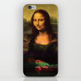 Mona Glitcha iPhone Skin