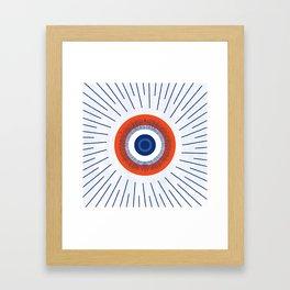 Eye Think Too Much Framed Art Print