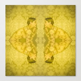 Projections III: Yellow Canvas Print