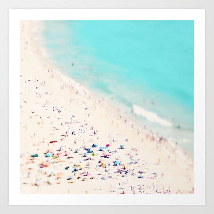 beach love III square Kunstdrucke