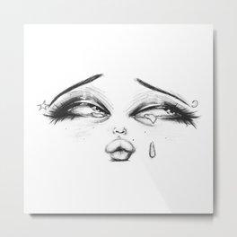 Little Face Metal Print