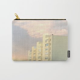 Runway Houses City Clouds Carry-All Pouch