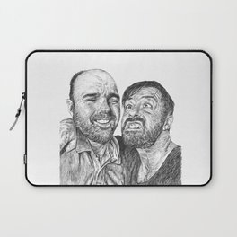 Karl Pilkington - Ricky Gervais, we need more of them! Laptop Sleeve
