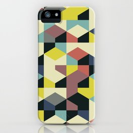 Abstract Geometric Artwork 52 iPhone Case
