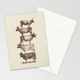 Cow Cow Nuts Stationery Cards