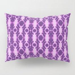 rotary tie-dye pattern in purple Pillow Sham