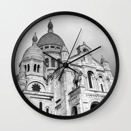 Sacre Coeur Montmartre Paris Wall Clock