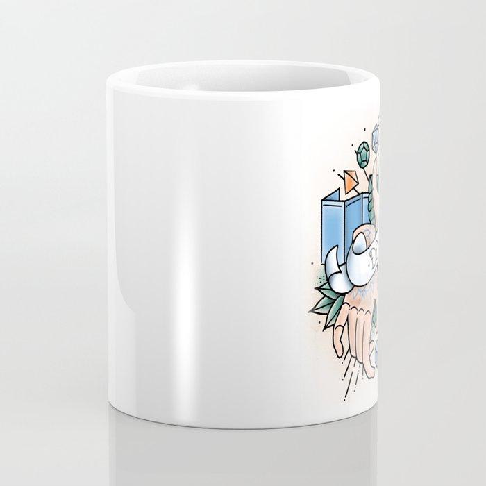 Dungeon Master - Vintage D&D Tattoos Coffee Mug