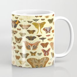 Vintage Moths and Butterflies Collection Coffee Mug