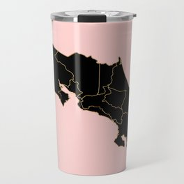 Costa Rica map Travel Mug