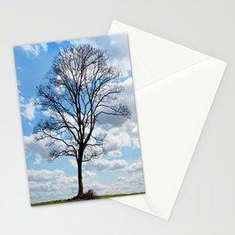 Cielo azul Stationery Cards