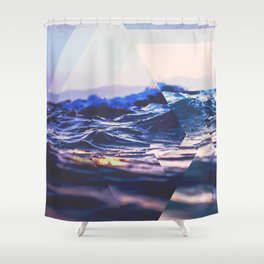Fractions C01 Shower Curtain