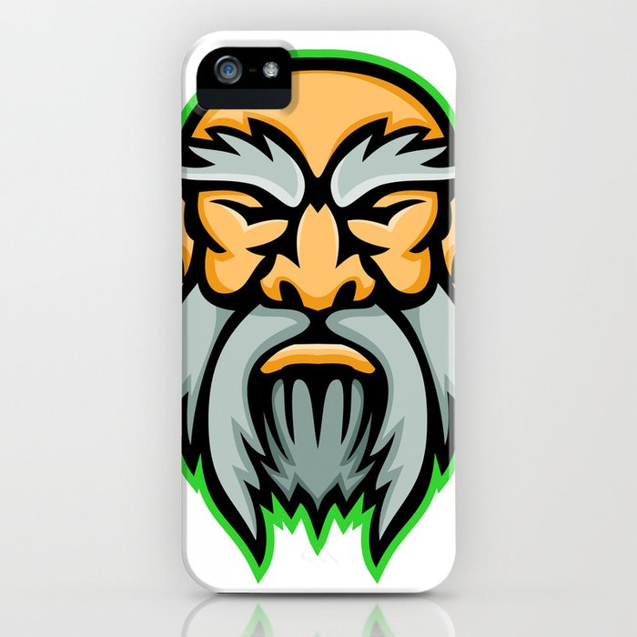 Cronus Greek God Mascot iPhone Case