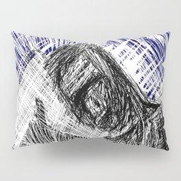 HitchHiker at Night Pillow Sham