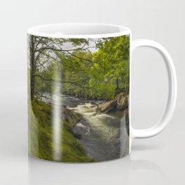 Morning River Sun Coffee Mug