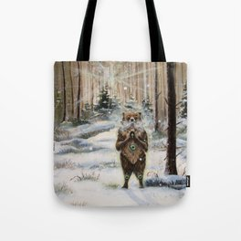 The Gentle Giant Tote Bag