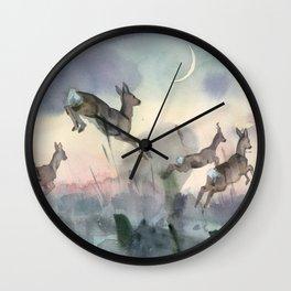 The Sunrise race Wall Clock