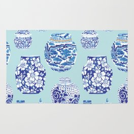 Chinoiserie Ginger Jar Collection No.3 Rug