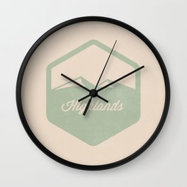 Highlands Wall Clock