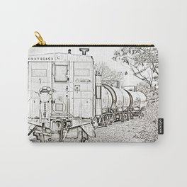 On Down The Line Carry-All Pouch