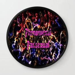 Phenomenal Pansexual Wall Clock