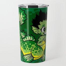 Pond Dragon Travel Mug