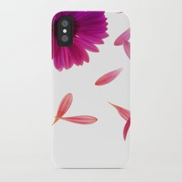 Petals On The Wind iPhone Case