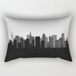 City Skylines: Frankfurt am Main Rectangular Pillow