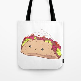 Happy Taco Tote Bag