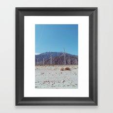 Palm Springs Windmills II Framed Art Print
