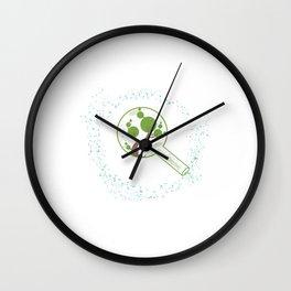 minimal abstract art tree of life Wall Clock