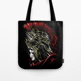 Roman Skull Tote Bag