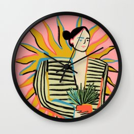 SUN POWER Wall Clock