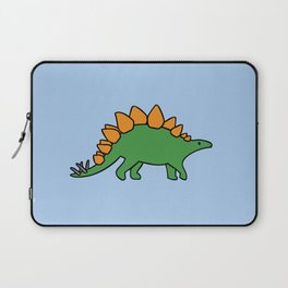 Cute Stegosaurus Laptop Sleeve