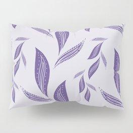 Ultraviolet Foliage #society6 #pattern #ultraviolet Pillow Sham