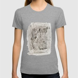 Abstract Painting Grayscape T-shirt