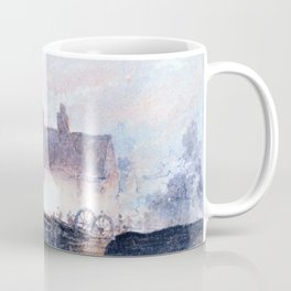David Cox - Boat Building - Dockyard at Birmingham - Digital Remastered Edition Coffee Mug