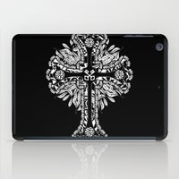 cross iPad Cases featuring cross by T.Grimm