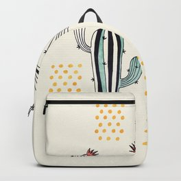 Cactus in a Pot Backpack